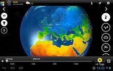 MeteoEarth - anschauliches Wetter für unterwegs