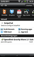 SwipePad Beta - Quick access and