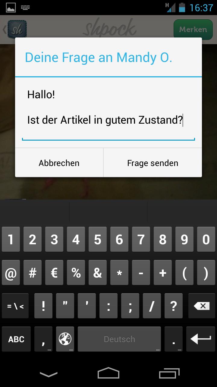 Shpock Mobiler Flohmarkt Androidpit