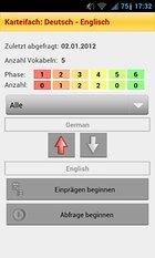 Vocablo 2 Vokabel Trainer - um unterwegs zu Büffeln