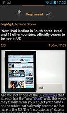 JustReader News - RSS: un altro client per Google Reader