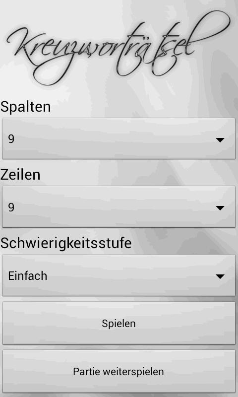 Kreuzworträtsel Deutsch Tolle Rätsel App Androidpit