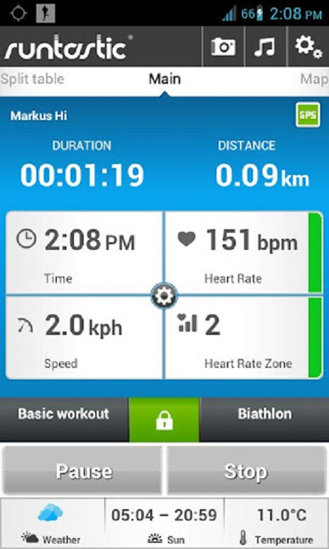 runtastic italiano