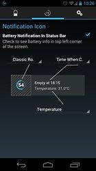 Battery Widget? Reborn! (BETA) – Gardez un œil sur votre batterie
