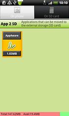 App 2 SD - Einfaches Verschieben auf die SD-Karte