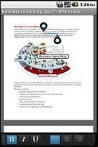 OfficeSuite Pro 6 + (PDF & HD) : de la bureautique comme à la maison
