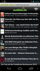 Audible für Android – Hörbücher für Dein Smartphone!