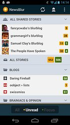 NewsBlur - A good Google Reader alternative