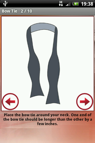 How to tie a tie learn how to tie the perfect knot android app how to tie a tie learn how to tie the perfect knot ccuart Choice Image