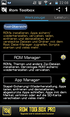 ROM Toolbox Lite - Das ultimative ROM Tool?
