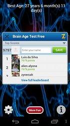 Brain age Test. Prueba a tu cerebro.
