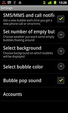 Notification Bubbles WALLPAPER -- Bursting bubbles can be fun