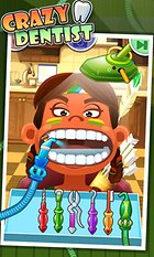 Crazy Dentist - Fun games: A painful experience!