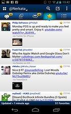 TweetCaster Pro for Twitter - Quel beau chemin parcouru !