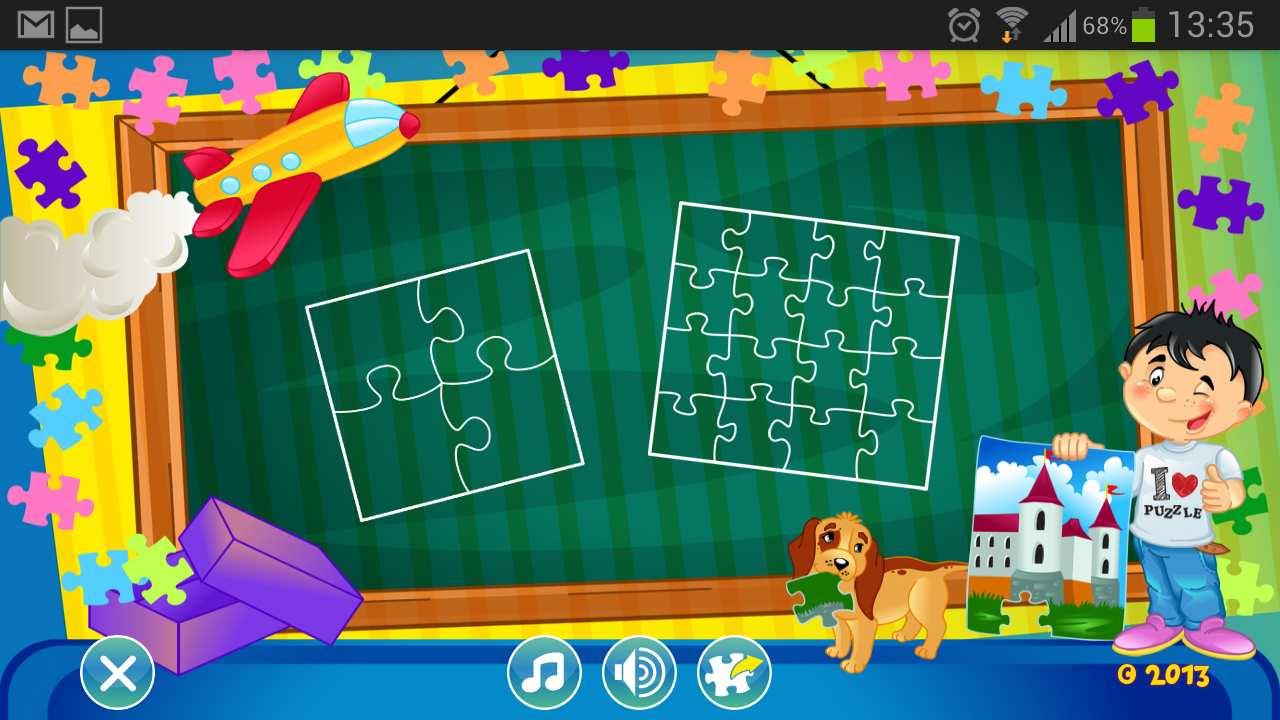 puzzles pour enfants une application pour les petits androidpit. Black Bedroom Furniture Sets. Home Design Ideas