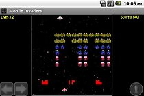 Mobile Invaders (Free) - Un bon clone de Space Invaders