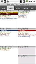 CalenGoo - un calendario con widget e impostazioni a bizzeffe