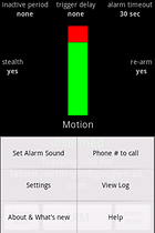 Motion & Sound Alarm - Alarm für Cobra 12
