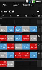 Schichtkalender – Schlicht, einfach und nützlich!