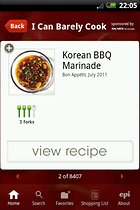 Epicurious Recipe App – A Recipe For Success