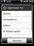 AppMonster Pro - Gérer vos applis sans soucis