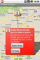 A World Of Photo (Free) – Spin the Bottle Meets Chain Letter