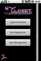 MyCloset - Something for the fashion conscious!