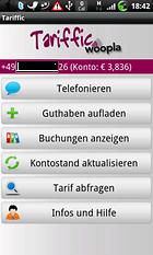 """""""Tariffic - Billig telefonieren"""" - günstig ins Ausland mit dem Android Smartphone telefonieren"""