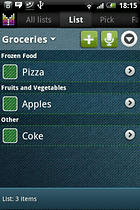 Mighty Grocery Shopping List