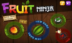 Fruit Ninja. ¿Os hace una macedonia de frutas?