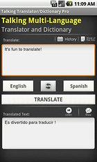 Hablando Traductor/Diccionario