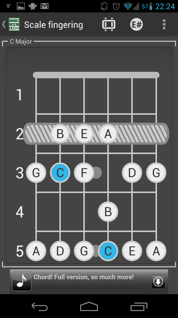 Chord! Free (Guitar Chords) - Crazy Chords - Android App ...