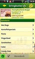Bringbutler - Pizza, Pasta, .. - ganz einfach bestellen