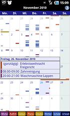Business Calendar Free.