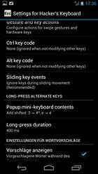 Hacker's Keyboard - Harika bir klavye