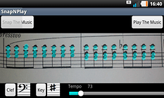 SnapNPlay music - ¡Música maestro!