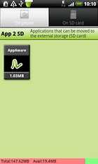 App 2 SD - Move apps to SD card