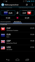 Finanzen100 Currency Converter -- How much is it?