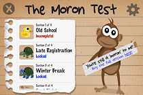 The Moron Test: Section 1
