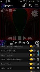 projectM Visualizador de Músic