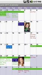 aCalendar - Android Kalender