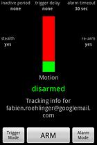 Motion & Sound Alarm