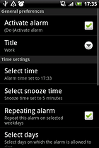 AlarmDroid. Por la mañana yo me levanto....