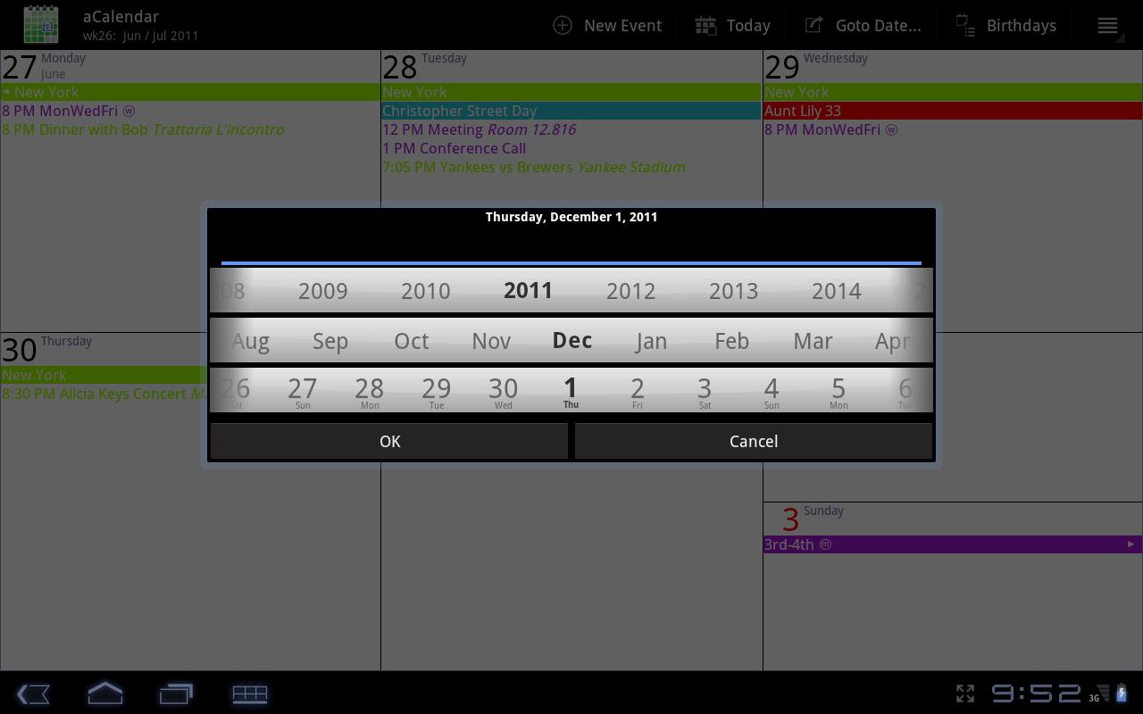 Acalendar Anleitung acalendar - android kalender | androidpit