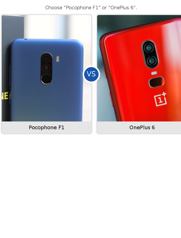 Pocophone F1 vs OnePlus 6 camera test: a surprise underdog victory