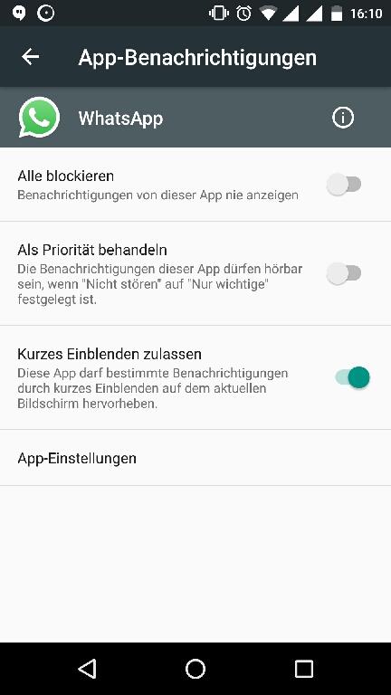Whatsapp Benachrichtigungen Als Banner Anzeigen Androidpit Forum