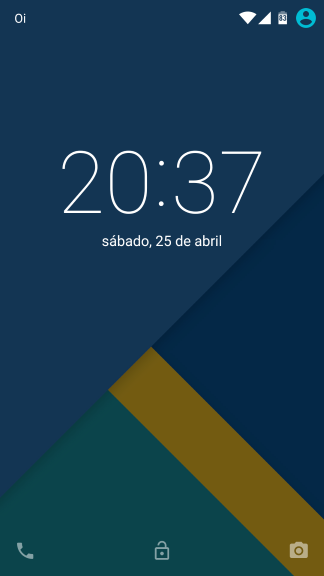 Hazy ROM - Lockscreen