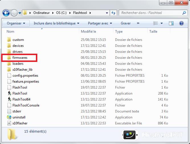 Tuto] Comment installer un Firmware/Rom en utilisant Flastool