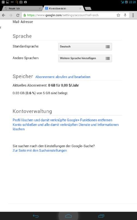 Bestellverlauf konto löschen store play Google Play
