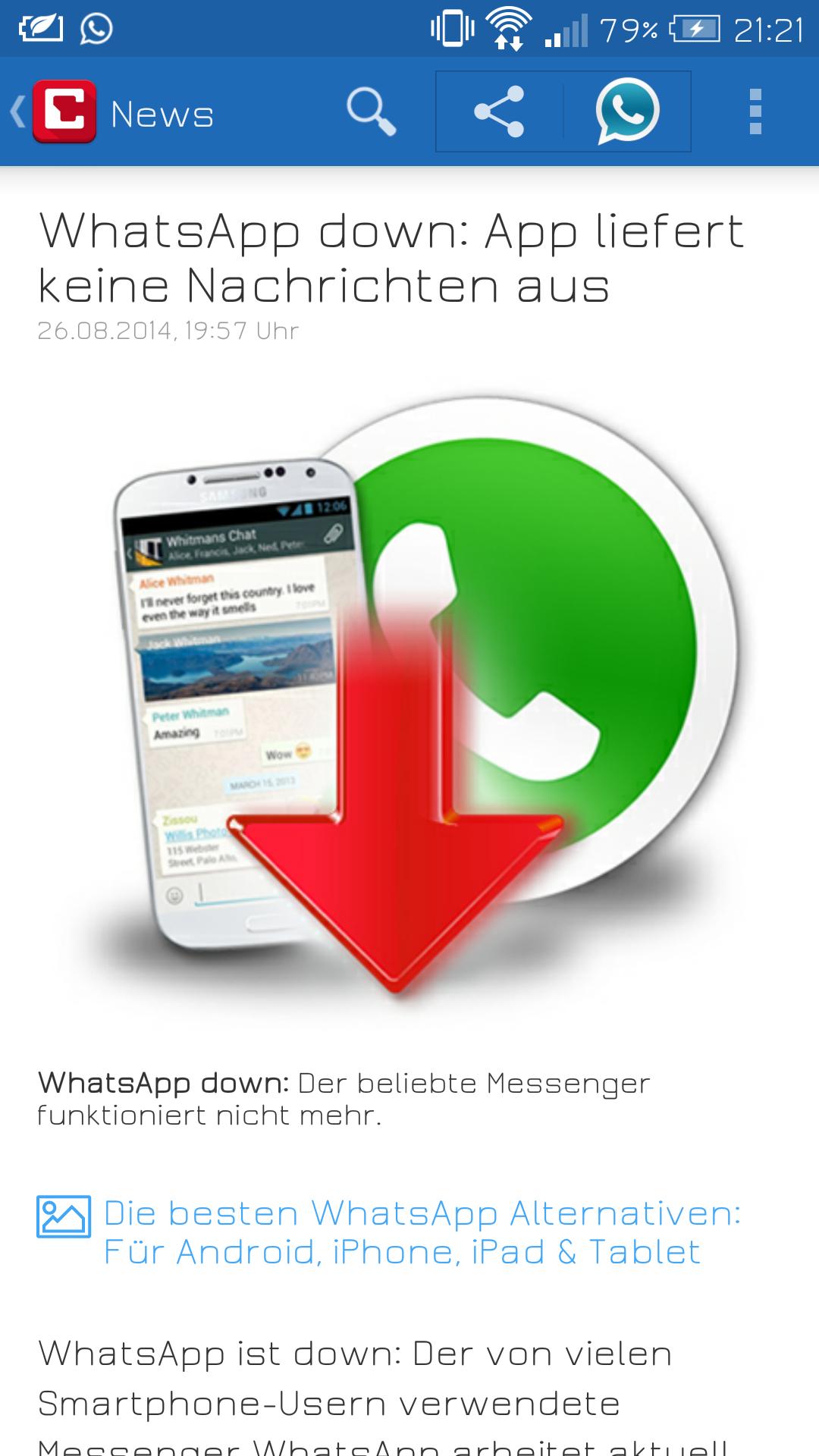 Whatsapp Verweigerer